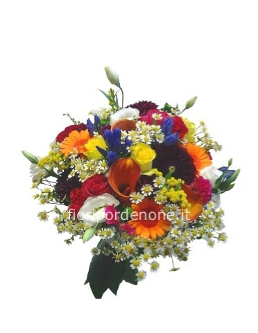 Bouquet di fiori assortiti